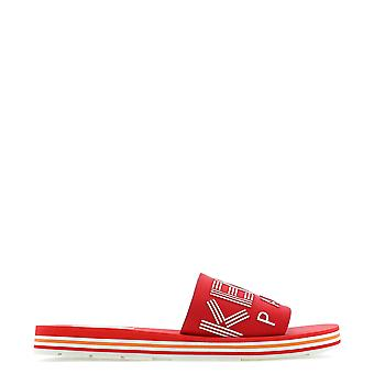 Kenzo Red Fabric Sandals