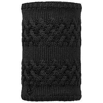 Buffera Black Savva Knitted Neckwarmer & Polar Reversible