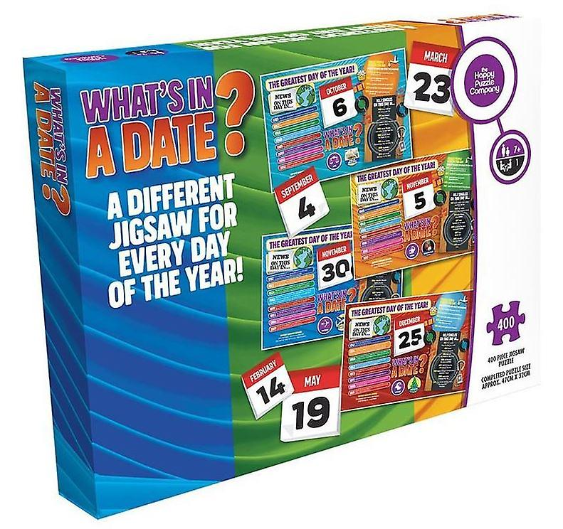 What's In A Date? **16th July** 400 Piece Jigsaw Puzzle 470mm x 320mm (hpy)