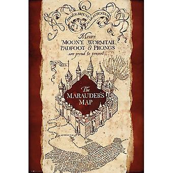 Harry Potter Marauders Map Maxi Poster 61x91.5cm
