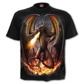 Spiral - draco unleashed - men's t-shirt