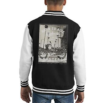Divide & Conquer Born To Ride Kid's Varsity Jacket