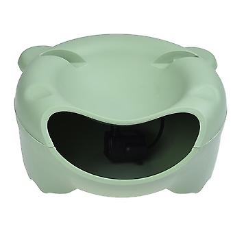 Automatic pet water fountain electric water dispenser for small cat dog - usb version, green