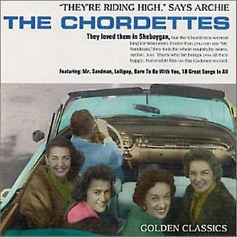 Chordettes - Golden Chordettes [CD] USA import