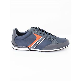 Boss Athleisure Saturn Low P Trainer - Dark Blue