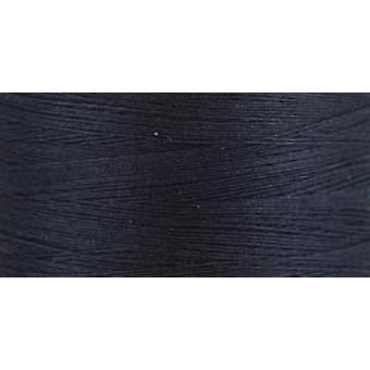 Naturbelassene Baumwolle Thread Feststoffe 876 Yards Midnight Blue 800C 6210