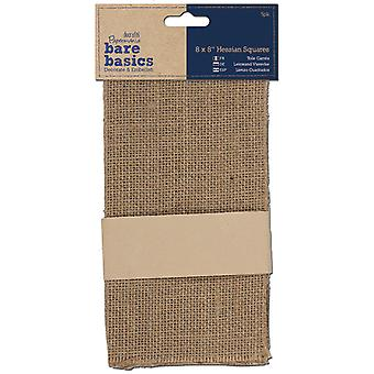 Papermania Bare Basics Hessian Squares 8