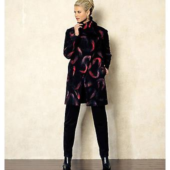 Misses' Coat  8  10  12  14  16 Pattern V8933  B50