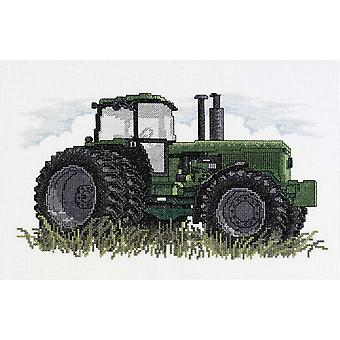 Tractor Counted Cross Stitch Kit 12