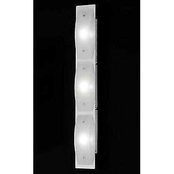 LED wall light 12 W Warm white Honsel Liana 38793 Chrome, White (matt)