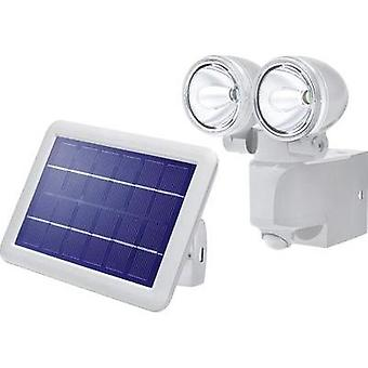 Solar spotlight (+ motion detector) Cold white Esotec 102418 Power Light Grey