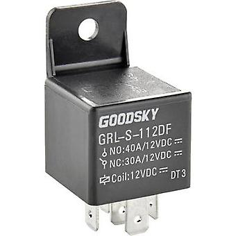 Automotive relay 12 Vdc 40 A 1 change-over GoodSky GRL-S-112DF