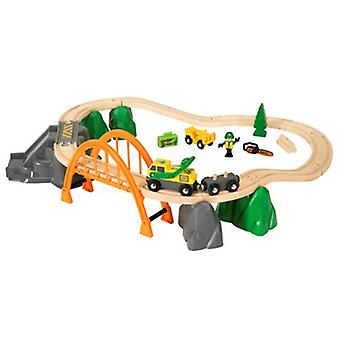 BRIO hout laden Set