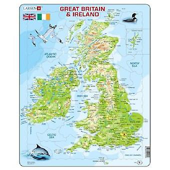 Larsen Puzzle Great Britain Upstairs Physical