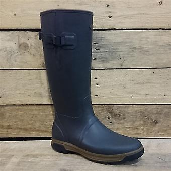 Grubs Highline Wellington Boots in Mahogany