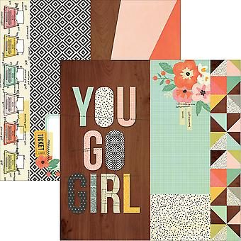 The Reset Girl Double-Sided Elements Cardstock 12