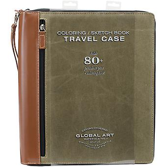 Coloring Book Case-Large Holds 81-Olive 853600