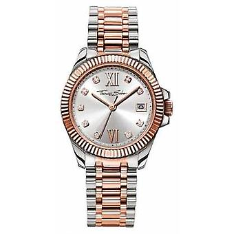 Thomas Sabo Womans Stainless Steel Strap Silver Dial WA0219-272-201-33 Watch
