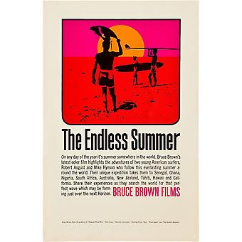 The Endless Summer Poster Art 1966 Movie Poster Masterprint
