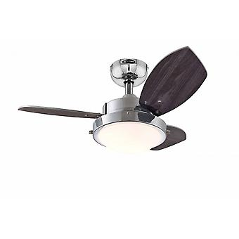 "Westinghouse Ceiling Fan Wengue 76 cm / 30"" with lighting"
