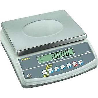 Table top scales Kern GAB 6K0.05N Weight range 6 kg Readability 0.05 g mains-powered, rechargeable Silver
