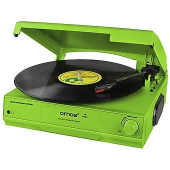 Gramofon USB AMOS (zielony)