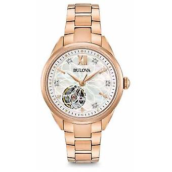 Bulova Women's Automatic Diamond 97P121 Watch