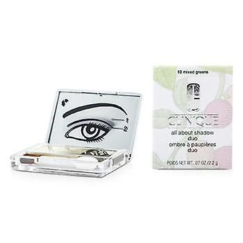 Clinique All over schaduw Duo - # 10 gemengde Greens - 2.2g/0.07oz