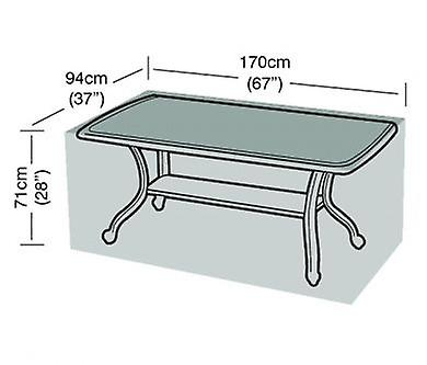 Rectangular Polyethylene Waterproof Seater Table 6 EI29WDH