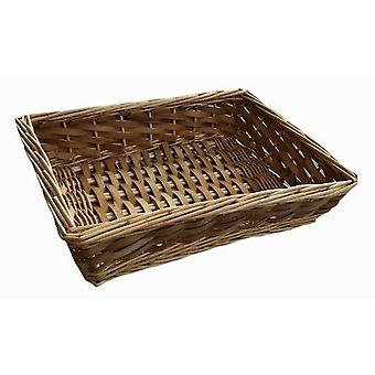 Große Chipwood Wicker-Tray