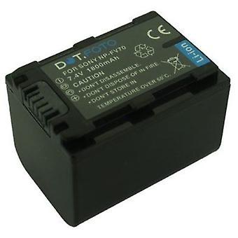 Dot.Foto Sony NP-FV60, NP-FV70 akumulator - 7.4V / 1800mAh