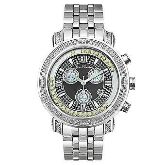 Joe Rodeo diamond men's watch - TYLER silver 2 ctw