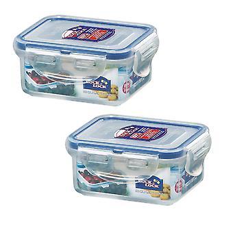 Lås & Lås 180ml ekstra lille opbevaringsbeholdere, sæt af 2