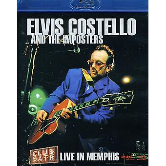 Elvis Costello - Club datum: Bor i Memphis [BLU-RAY] USA import