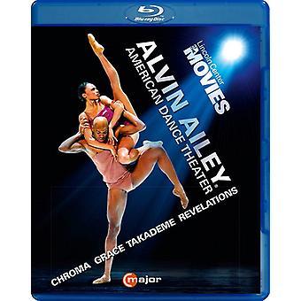 Importación de Estados Unidos Alvin Ailey American Dance Theater [Blu-ray]