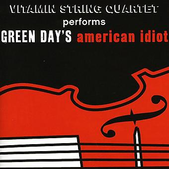 Vitamin String Quartet - Performs Green Day's American Idiot [CD] USA import