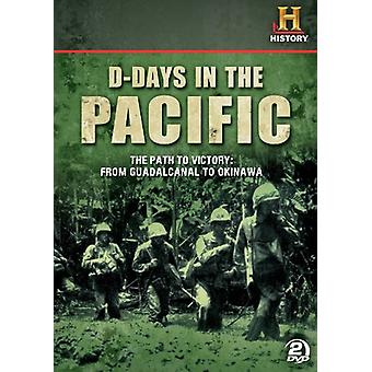 D-Days in the Pacific [DVD] USA import