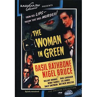 Sherlock Holmes: The Woman i grøn (1945) [DVD] USA import