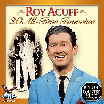 Roy Acuff - 20 All Time Favorites [CD] USA import