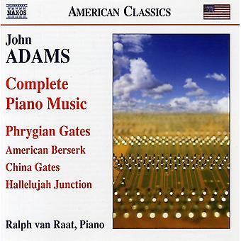 J. Adams - John Adams: Komplet klavermusik [CD] USA import