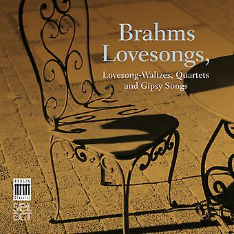 Chamber Choir of Europe - Brahms: Lovesongs [CD] USA import