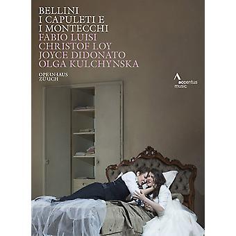 Jeg Capuleti E I Montecchi [DVD] USA importerer