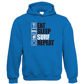 Eat Sleep Surf Repeat Hoodie (S to 5XL)