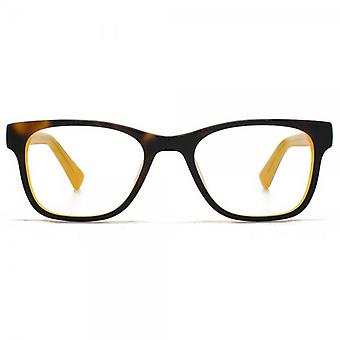 Hook LDN Rhapsody Glasses In Tortoiseshell On Yellow