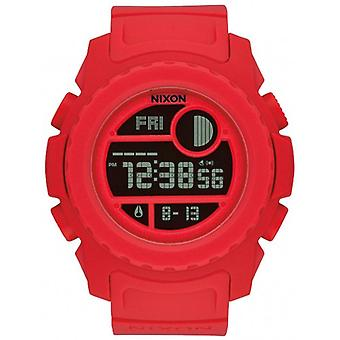 Nixon The Super Unit Watch - Red
