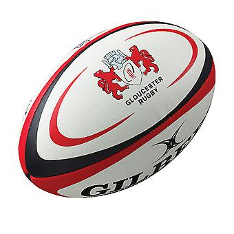 GILBERT Gloucester Mini Rugby-ball