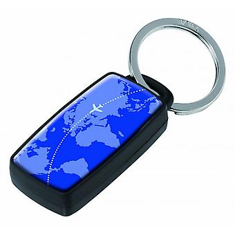 Troika The Detective Around the World Key Finder - Blue/Black