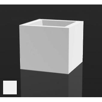 Vondom Flower pot cube 18x18 Nano with ice light 41318w