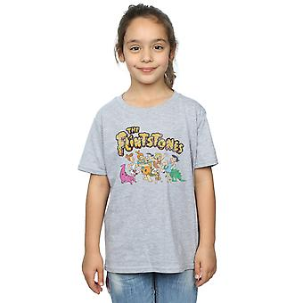 The Flintstones Girls Group Distressed T-Shirt