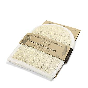 Hydrea London Organic Egyptian Loofah Exfoliating Bath Mitt